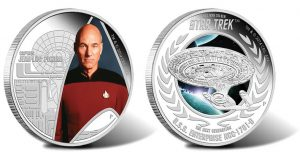 Star Trek The Next Generation Coins Launch