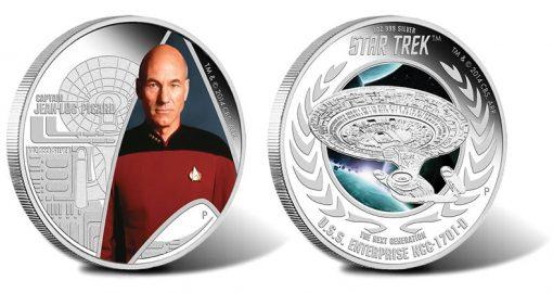 2015 Star Trek Next Generation Coins