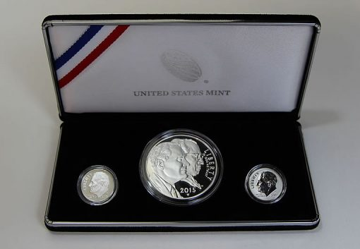 Coins of the March of Dimes Special Silver Set