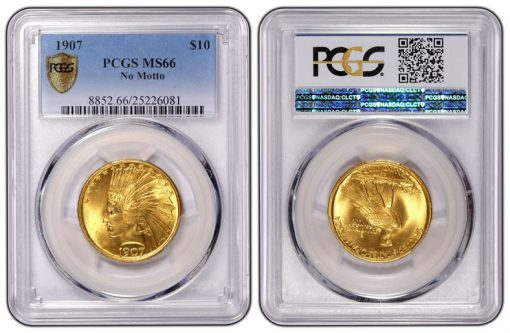 New PCGS coin holder
