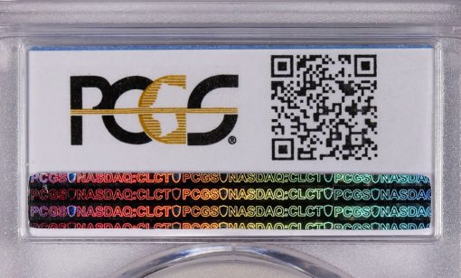 PCGS QR Code on Coin Holder