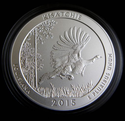 Photo of 2015-P Kisatchie Five Ounce Silver Uncirculated Coin