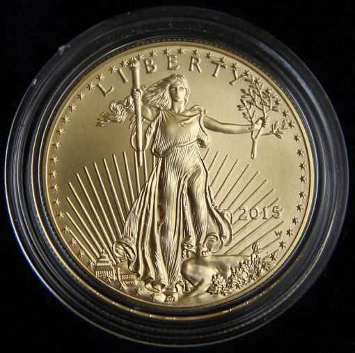 Photo of 2015-W Uncirculated American Gold Eagle