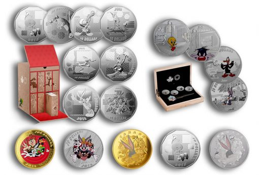 Royal Canadian Mint Looney Tunes Coins