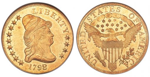 1798/7 $10 Eagle