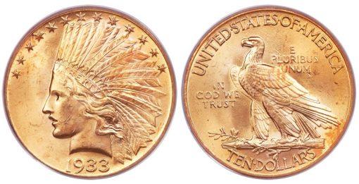 1933 $10 Eagle