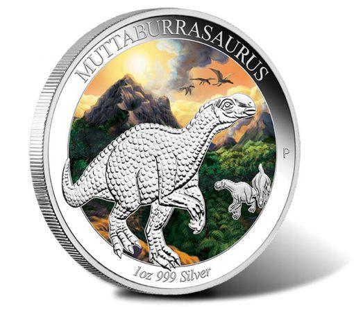 2015 $1 Muttaburrasaurus 1 oz Silver Proof Coin
