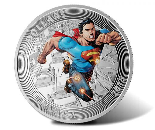 2015 $20 Superman Action Comics #1 Silver Coin
