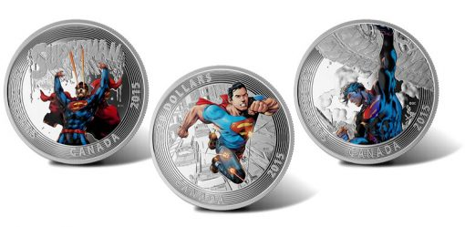 2015 $20 Superman Comic Cover Silver Coins