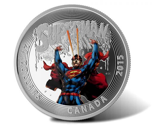2015 $20 Superman #28 Silver Coin