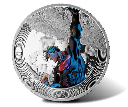 2015 $20 Superman Unchained #2 Silver Coin