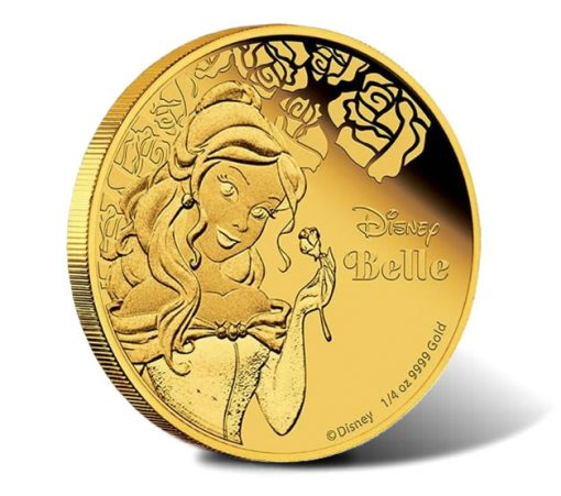 2015 $25 Disney Belle Gold Coin