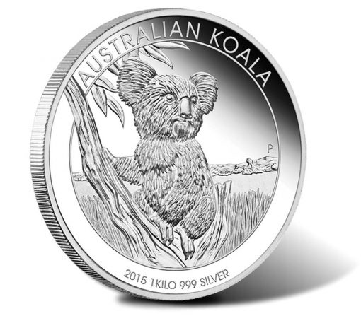 2015 $30 Australian Koala 1 Kilo Silver Proof Coin