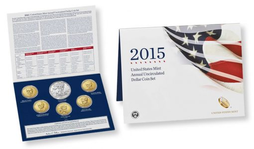 2015 Annual Uncirculated Dollar Coin Set