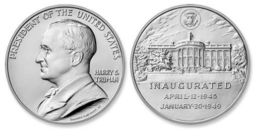 2015 Harry S. Truman Presidential Silver Medal