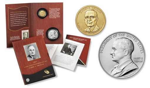 2015 Truman Coin and Chronicles Set