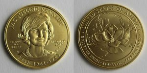 Jacqueline Kennedy Gold Coins Hit 10,894 in First Day