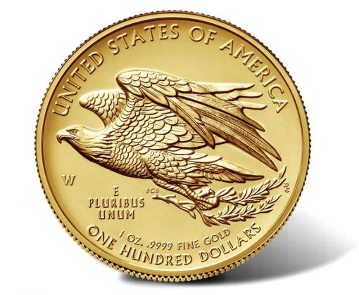 2015-W $100 American Liberty High Relief Gold Coin - Reverse