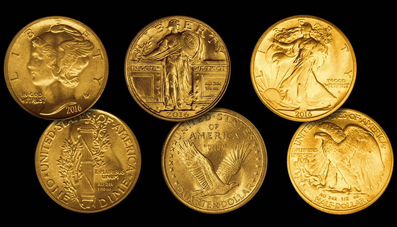 Us Mint Announces Centennial Gold Coins For 2016 Coin News