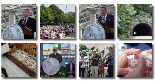 Blue Ridge Parkway Quarter Ceremony Photos