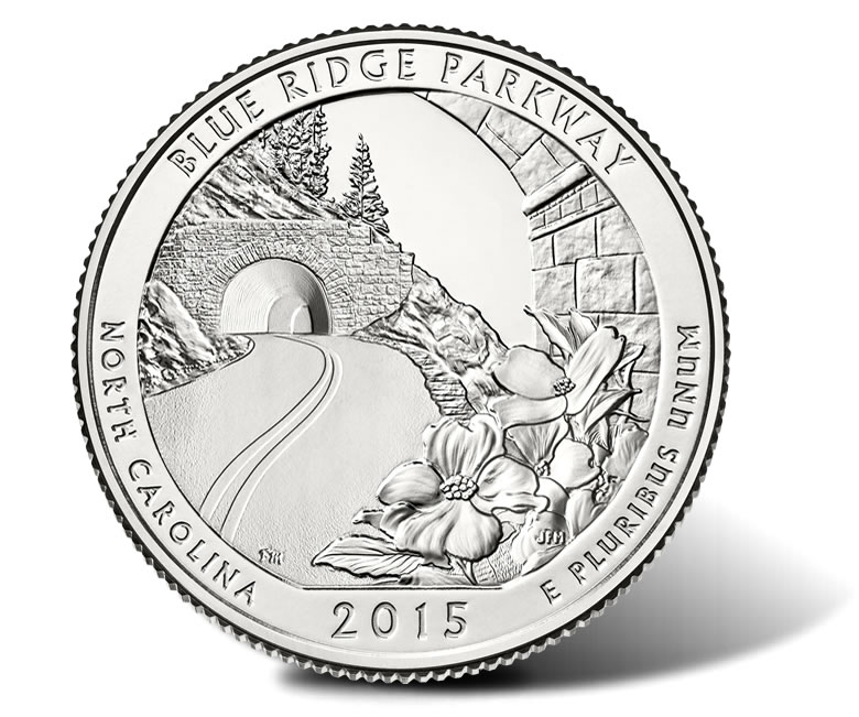 Ridge parkway quarter ceremony coin exchange and forum coin news
