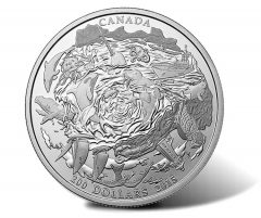 Canadian 2015 $200 Coastal Waters Silver Coin for $200