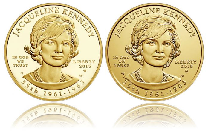 Jacqueline Kennedy First Spouse Gold Coins - Proof and Uncirculated