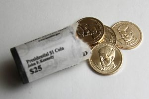 Roll of 2015-D John F. Kennedy Presidential $1 Coins