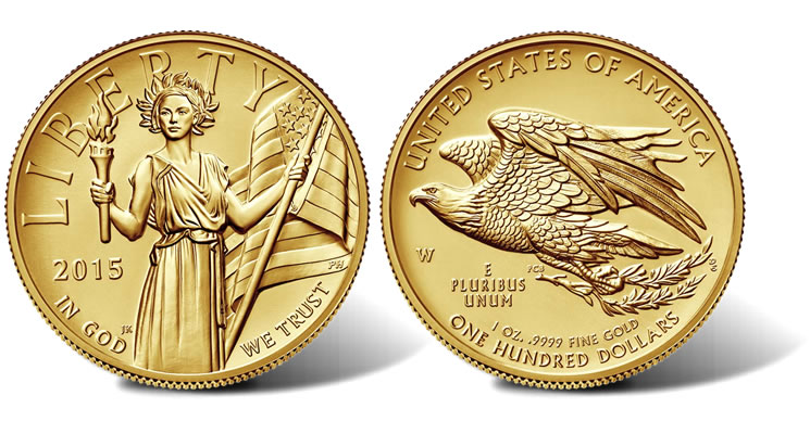 2017 American Liberty High Relief Gold Coin