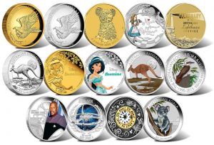 2015 Australian Silver and Gold Coin Products for July