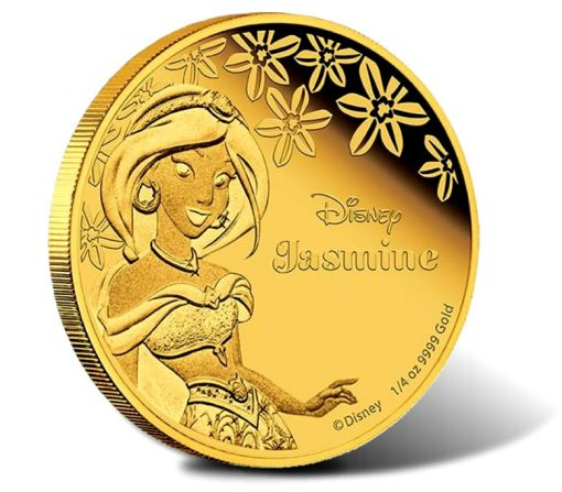 2015 Disney Princess Jasmine Gold Coin