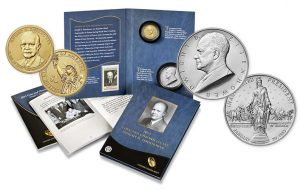 2015 Eisenhower Coin & Chronicles Set