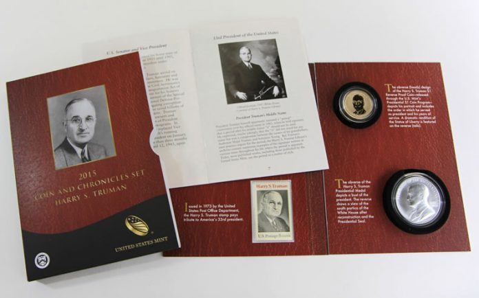 2015 Harry S. Truman Coin and Chronicles Set
