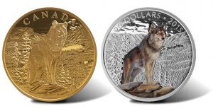 2015 Canadian Coins Depict Imposing Alpha Wolf