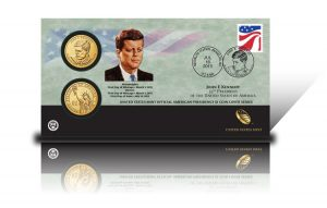 2015 John F. Kennedy $1 Coin Cover
