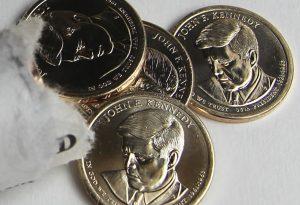2015 John F. Kennedy Presidential $1 Coins