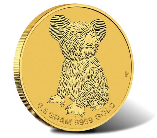2015 Mini Koala 0.5g Gold Coin