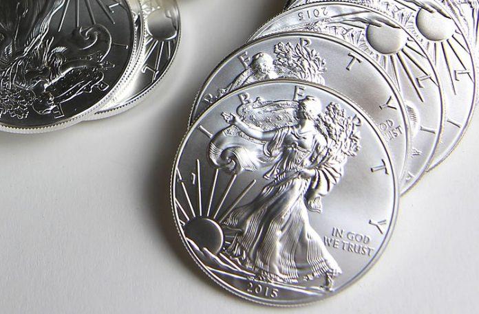 2015 Silver Eagle bullion coins