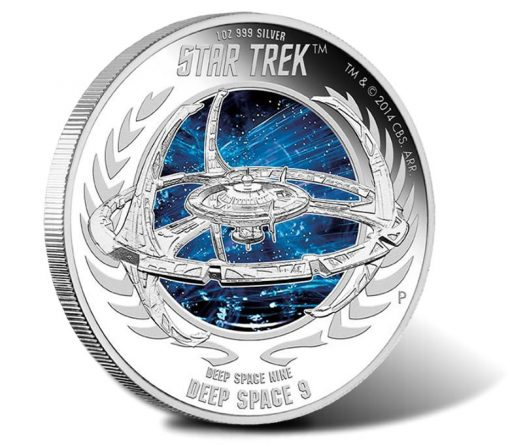 2015 Star Trek Deep Space 9 Silver Proof Coin