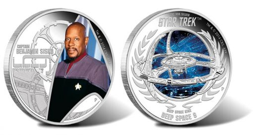 2015 Star Trek Deep Space Nine Silver Coins