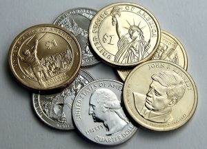 US coin production soared through the first half of the year