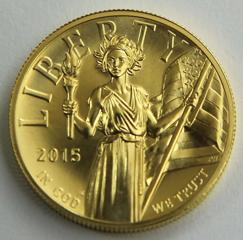 High Relief Coin High Relief Gold Coin