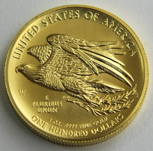 2015-W $100 American Liberty High Relief Gold Coin, Reverse