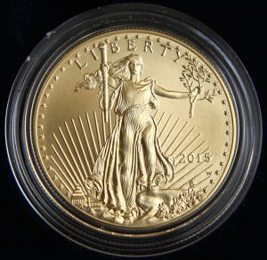 2015-W Uncirculated Gold Eagle