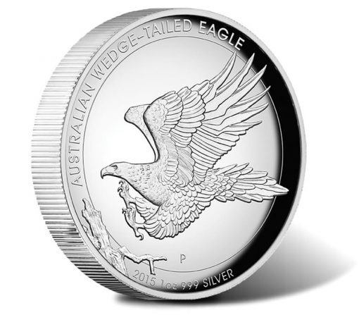 2015 Wedge-Tailed Eagle High Relief Silver Coin