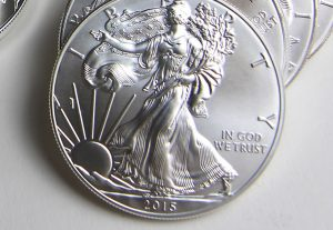 2015-dated American Eagle silver bullion coins