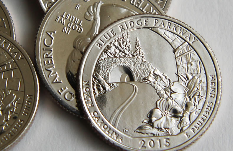 Us Mint Sales Blue Ridge Parkway Quarters Debut Coin News