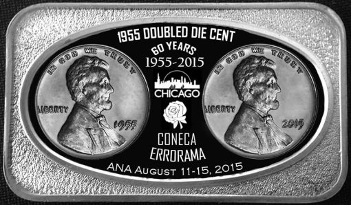 CONECA 2015 Silver Bar