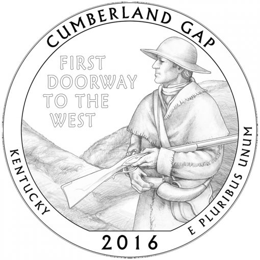 Cumberland Gap National Historical Park Quarter and Coin Design