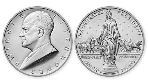 Dwight D. Eisenhower Presidential Silver Medal